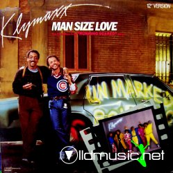 Klymaxx - Man Size Love - 12'' - 1986