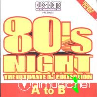 80's Night: The Ultimate DJ Collection - 4 CD