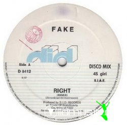 Fake - Right (Remix)/New Art (1984)