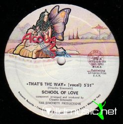 "School Of Love - That's The Way 12"" Maxi [Rare]"
