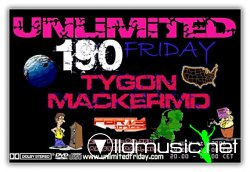 UNLiMiTED FRiDAY 190 XXL on Party107 (07-04-08)