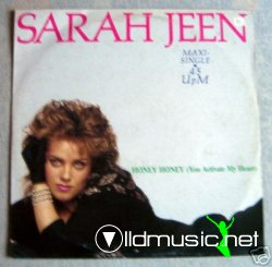 Sarah Jeen - Honey Honey (You Activate My Heart)/ Straight From The  Heart 12