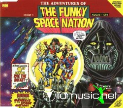 The Funky Space Nation - Ride the rocket [Maxi Cd] - 1992