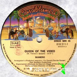Manero - Queen Of the Video (Maxi Version 1984)