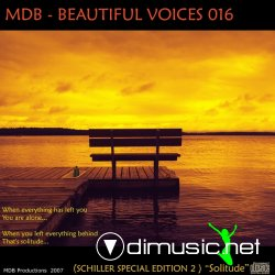 MDB - BEAUTIFUL VOICES 016 (SCHILLER SPECIAL PART 2) (79:51)