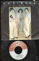 La Bionda - I Wanna Be Your Lover - 7'' Single - 1980