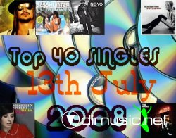 Top 40 Singles 13th July 2008
