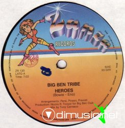Big Ben Tribe - Heroes (12'' Version 1983)