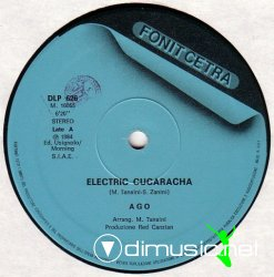 Ago - Electric Cucaracha 12'' (1984)