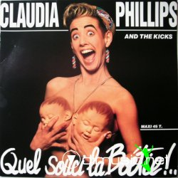 Claudia Phillips & The Kicks - Cache Ta Joie (Vinyl, 12