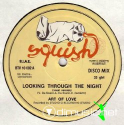 "Art Of Love - Looking Through The Night 12"" Maxi [Rare]"