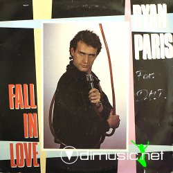 "Ryan Paris - Fall In Love 12"" Maxi [Rare]"