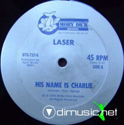 "Laser - His Name Is Charlie 12"" Maxi [Rare]"