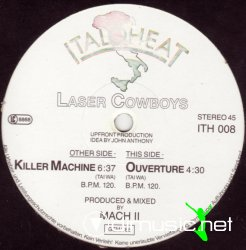 Laser-Cowboys - Killer Machine 12