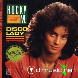 Rocky M - 1986 - Disco Lady (Single Maxi) (192)by www.odimusic.net
