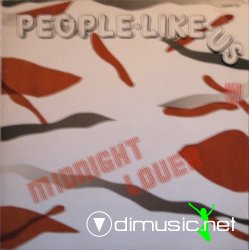 People Like Us - Midnight Lover (12'' Maxi Single)