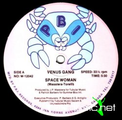 Venus Gang - Space Woman [Maxi RARE]