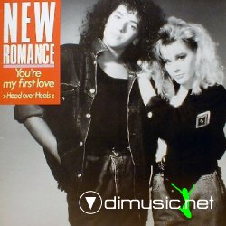 "New Romance - You're My First Love (Head Over Heels) 12"" Maxi [Rare]"