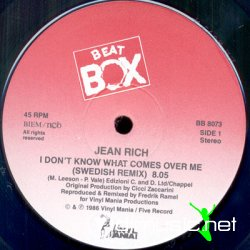 Jean Rich - I Don't Know What Comes Over Me (Swedish Remix) 12