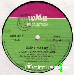 Jimmy Mc Foy - I Can't Stay Without You 12