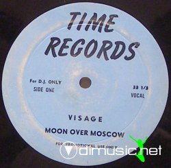 Visage - Moon Over Moscow (12''Japan 1981)