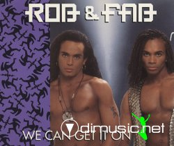Rob & Fab - We Can Get It On (CD Single) 1992