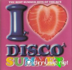 I Love Disco Summer Vol 3 - various artists (2 CD's)
