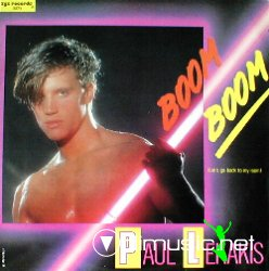"Cover Album of Paul Lekakis - Boom Boom (Let's Go Back To My Room) 12"" Maxi [Rare]"