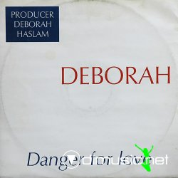 "Cover Album of Deborah - Danger For Love 12"" Maxi [Rare]"