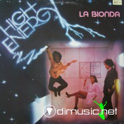 LA BIONDA - High Energy (1979)