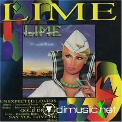 Lime - Unexpected Lovers - Maxi - 1993