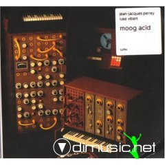 Cover Album of Luke Vibert & Jean Jaques Perrey -  Moog Acid