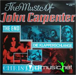 Cover Album of The Music Of John Carpenter