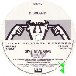 Disco Aid - Give, Give, Give 12