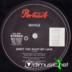 Nicole - Don't You Want My Love 12