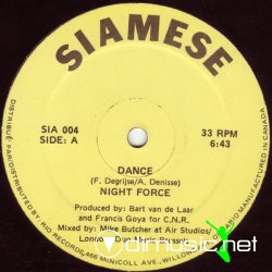 "Night Force - Dance 12"" Maxi [Rare]"