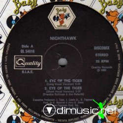 "Nighthawk - Eye Of The Tiger 12"" Maxi [Rare]"