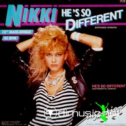 "Nikki - He's So Different 12"" Maxi [Rare]"