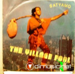 "SATYAMO ""THE VILLAGE FOOL"" rare 7' Italy promo mint"