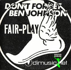 Fair-Play - Don't Forget Ben Johnson (MxCD (POLYDOR 871 211-2) (1988)