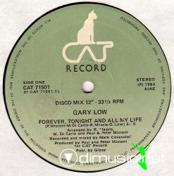 Gary Low - Forever, Tonight And All My Life 12