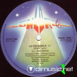 G.L. And Band - La Colegiala 12