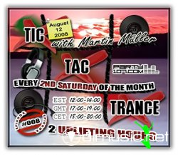 Martin Mueller - Tic Tac Trance 008 on Party107 (08-09-08)