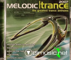Best Trance Vinyl-Melodic 2007 (2007), 2CD