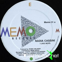 "Nadia Cassini - I Like Boys / Obsessed 12"" Maxi [Rare]"