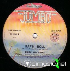 Frisk The Frog - Rap 'N' Roll [Maxi rare ]