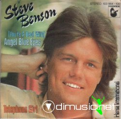 Cover Album of Steve Benson - (You're A Devil With) Angel Blue Eyes - 1981