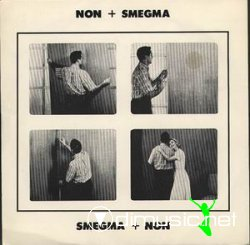 Cover Album of NON + Smegma - Split [ultra rere]