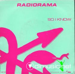 Radiorama - So I Know  - 7'' Single - 1987