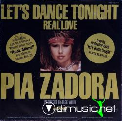 Pia Zadora - Let's Dance Tonight- 7'' Single - 1984